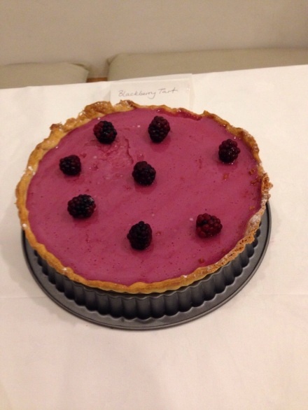 Blackberry Tart by Harley Beecroft