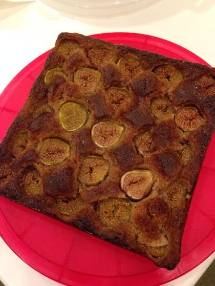 Fig, Ginger and Spelt Cake by Gemma Gannon