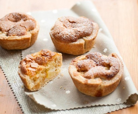 Pear, Ginger and Brown Butter Tartlets by Lucy Parissi [photo: Lucy Parissi]