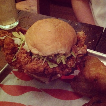 Dirty Chicken Burger