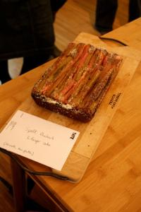 Rhubarb and Ginger Cake from the Band of Bakers 'Your Favourite Bake' event, May 2012